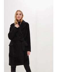Женское черное пальто от Lezzarine