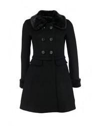 Женское черное пальто от LOST INK