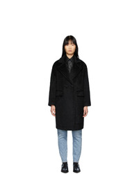 Женское черное пальто от Mackage
