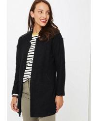 Женское черное пальто от Marks & Spencer