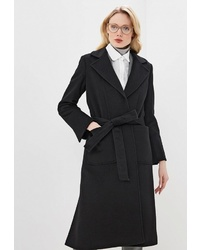 Женское черное пальто от Max & Co.