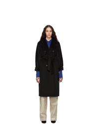 Женское черное пальто от Max Mara