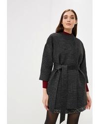 Женское черное пальто от Ruxara