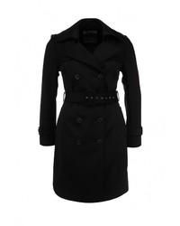 Женское черное пальто от s.Oliver Premium