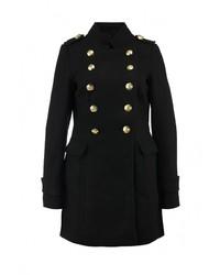 Женское черное пальто от Top Secret