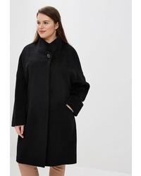Женское черное пальто от Trifo