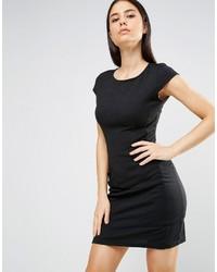 Женское черное платье прямого кроя от AX Paris
