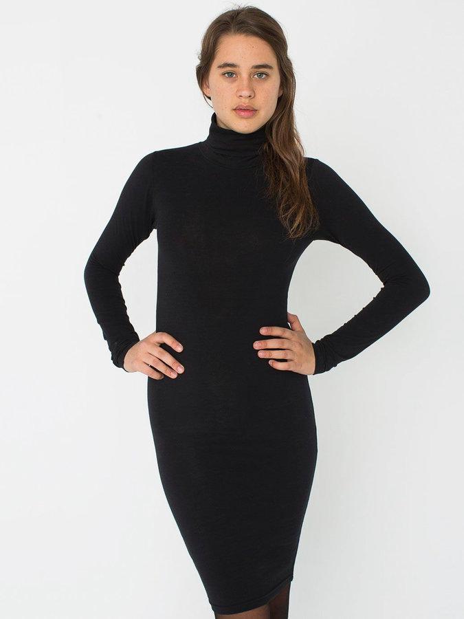 Свитер платье черное