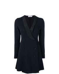 Черное платье-смокинг от A.L.C.