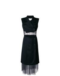 Черное платье-смокинг от Maison Margiela
