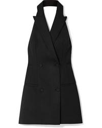 Черное платье-смокинг от Sara Battaglia