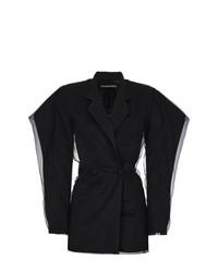 Черное платье-смокинг от Y/Project
