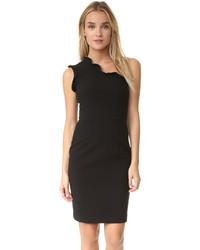 Женское черное платье-футляр от Black Halo