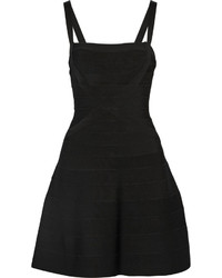 Женское черное платье-футляр от Herve Leger
