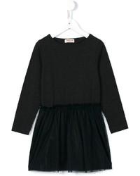Детское черное платье для девочке
