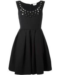 Черное платье от Fendi