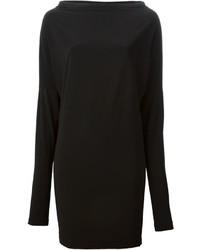 Черное платье от Norma Kamali