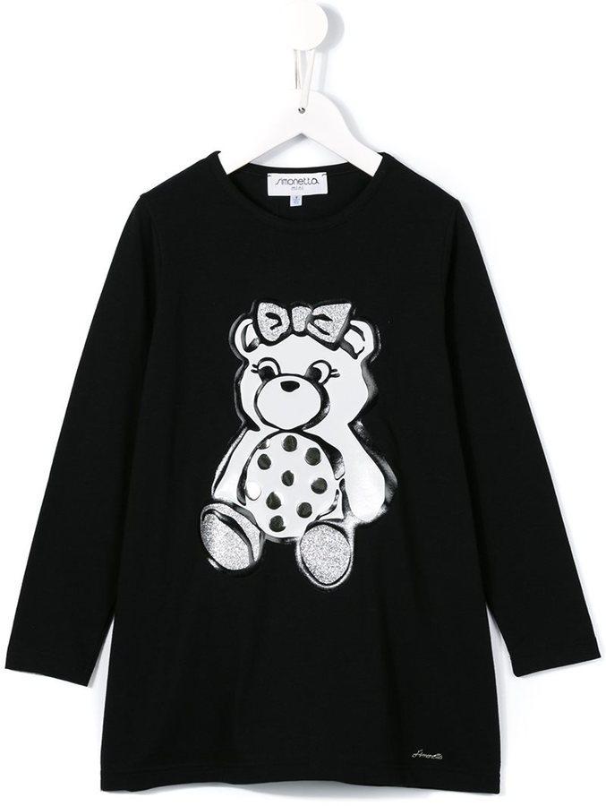 Детское черное платье для девочке от Simonetta