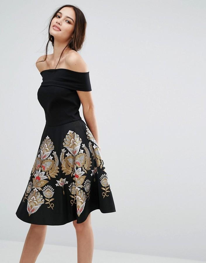 55d0ba834146 21 601 руб., Черное платье от Ted Baker