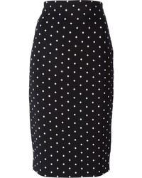 bd9c1727d32 Купить черно-белую юбку-карандаш - модные модели юбок-карандаш (31 ...