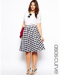 fe5e6536233 Купить юбку-миди в мелкую клетку - модные модели юбок-миди (0 ...