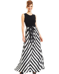 Вечерние платья черно белые купить