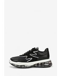 Женские черно-белые кроссовки от Bronx