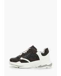 Женские черно-белые кроссовки от Findlay