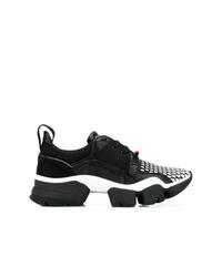 Мужские черно-белые кроссовки от Givenchy