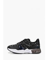Женские черно-белые кроссовки от GUESS