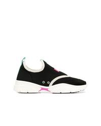 Женские черно-белые кроссовки от Isabel Marant