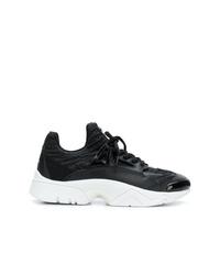 Женские черно-белые кроссовки от Kenzo