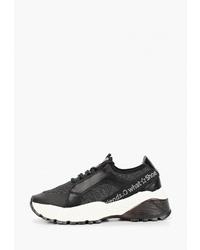 Женские черно-белые кроссовки от s.Oliver