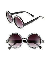 Черно-белые солнцезащитные очки из бисера