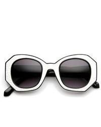 Черно-белые солнцезащитные очки