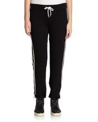 2359d850 С чем носить черно-белые спортивные штаны женщине? Модные луки (68 ...
