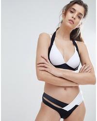 Черно-белые трусики бикини от Amy Lynn