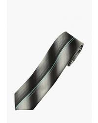 Мужской черно-белый галстук в вертикальную полоску от Fayzoff S.A.