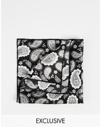 Черно-белый нагрудный платок с принтом от Reclaimed Vintage