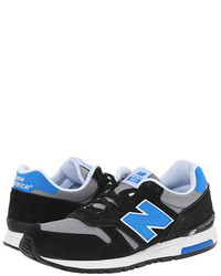 Черно-синие кроссовки