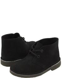 Черные ботинки дезерты