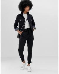 Женские черные брюки-галифе от ASOS DESIGN
