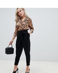 Женские черные брюки-галифе от Asos Petite