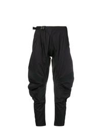 Женские черные брюки-галифе от Marcelo Burlon County of Milan