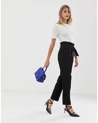 Женские черные брюки-галифе от Miss Selfridge