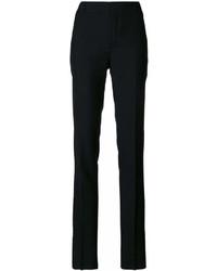 Женские черные брюки-галифе от Saint Laurent
