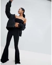 Черные брюки-клеш от Fashionkilla