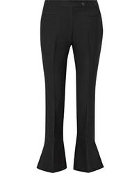 Черные брюки-клеш от Fendi