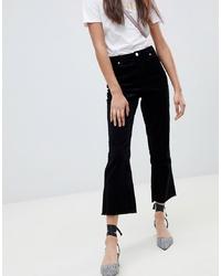 Черные брюки-клеш от Miss Selfridge