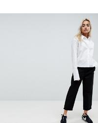 Женские черные брюки чинос от Asos Petite